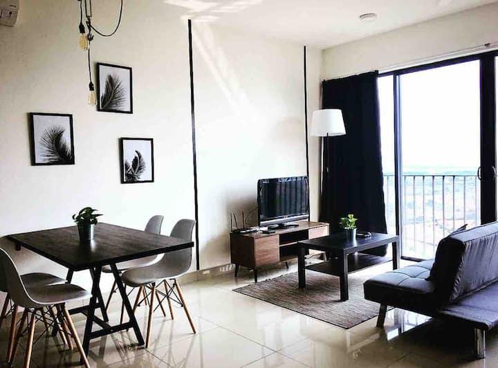 Arch+Homestay(CityView/NETFLiX)@Trefoil,Setia Alam