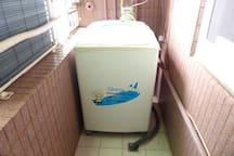 陽台-洗衣機