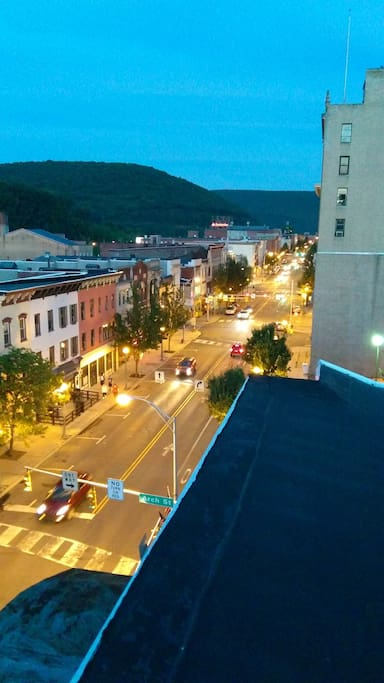 Center Street, Pottsville (1 block away)