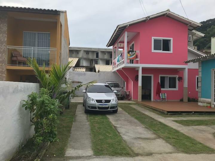 Casa Rosa a 300m da praia