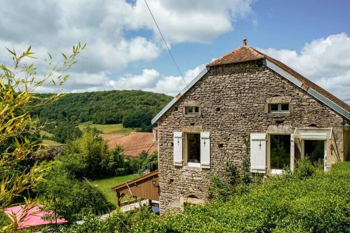 The Little House at Bourgogne-Franche-Comté