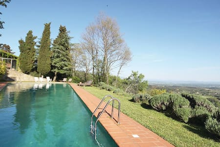 The Owl: view, pool and garden - Figline Valdarno - Apartamento