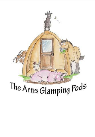 Glamping Pods on a Smallholding with amazing views