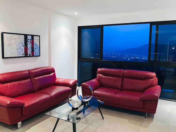 Apartamento nuevo  con la mejor vista a la ciudad