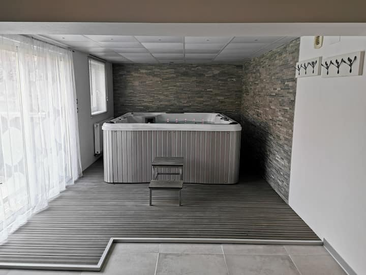 Modern house 10 people with sauna and Spa