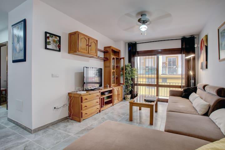 Lounge and Balcony