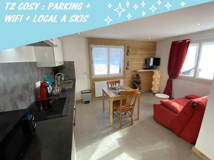 Bright modernised flat, WiFi, garden and parking