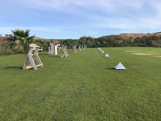Quivira golf driving range