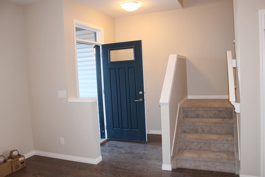 Front Entry and Stairs
