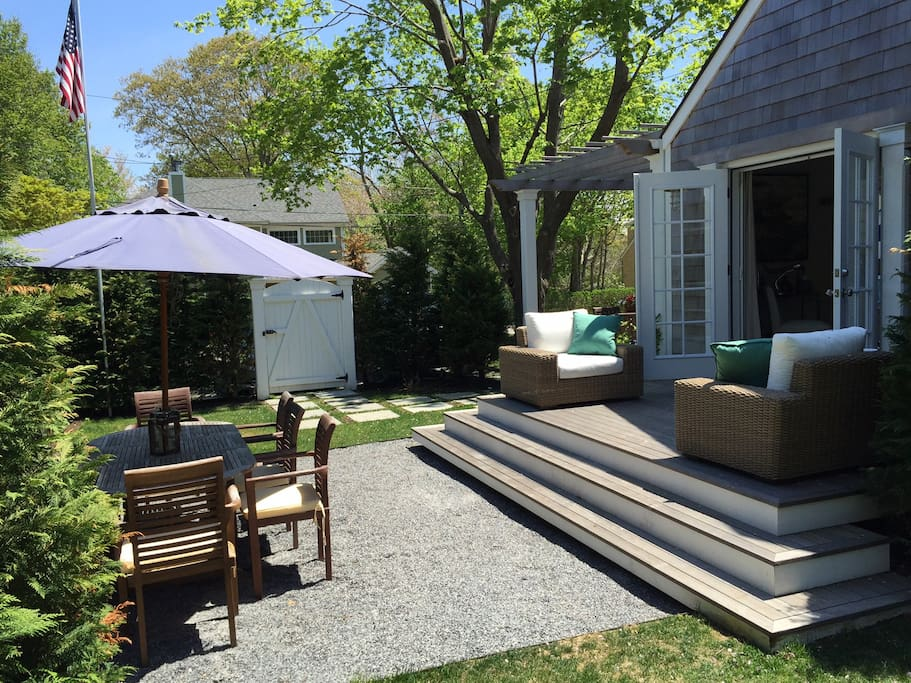 Our little dream oasis in East Hampton