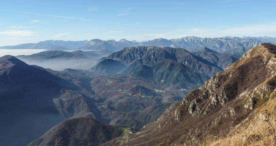 Camera nella stupenda Val d'Arzino - Pielungo - Casa