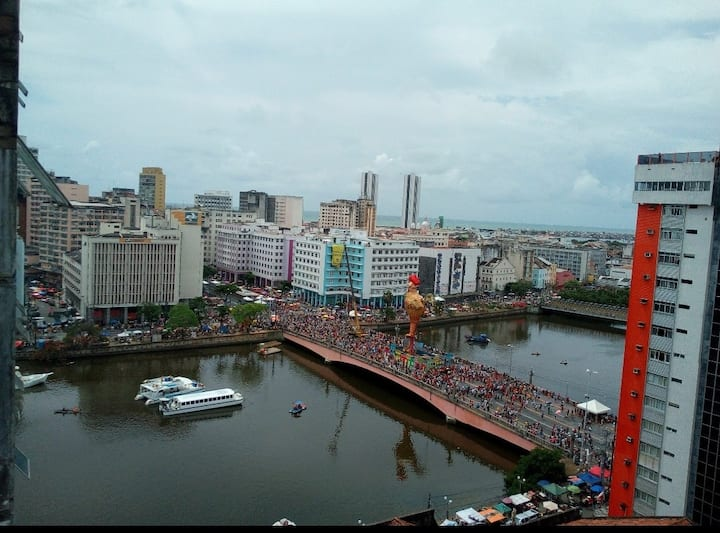 Carnaval Galo Recife Centro Apartamento