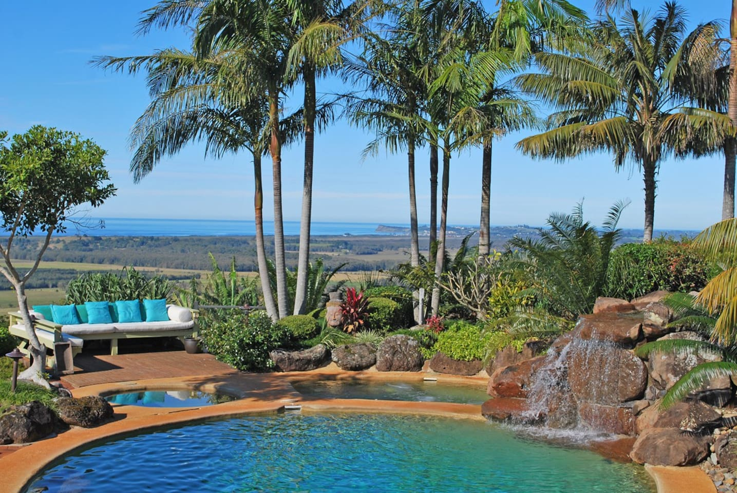 Stunning views of the coast all the way to Lennox Head and Byron Bay and beyond.