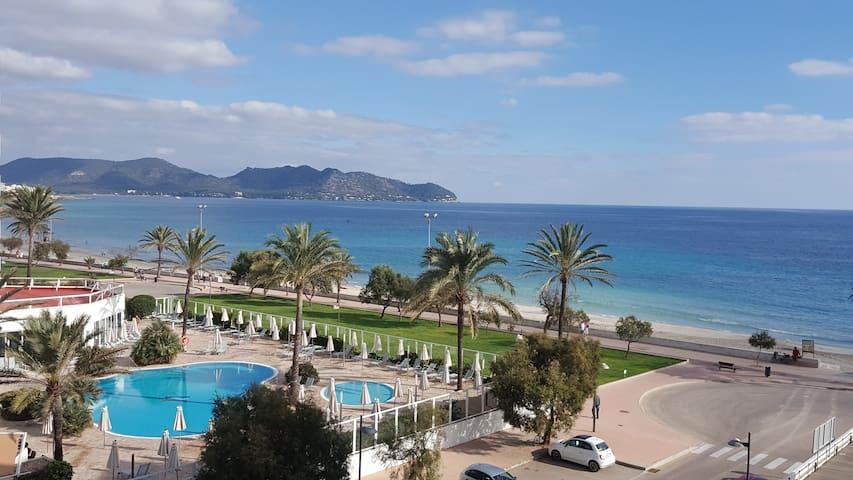 Apartment mit Meerblick am Strand von Cala Millor - Sant Llorenç des Cardassar