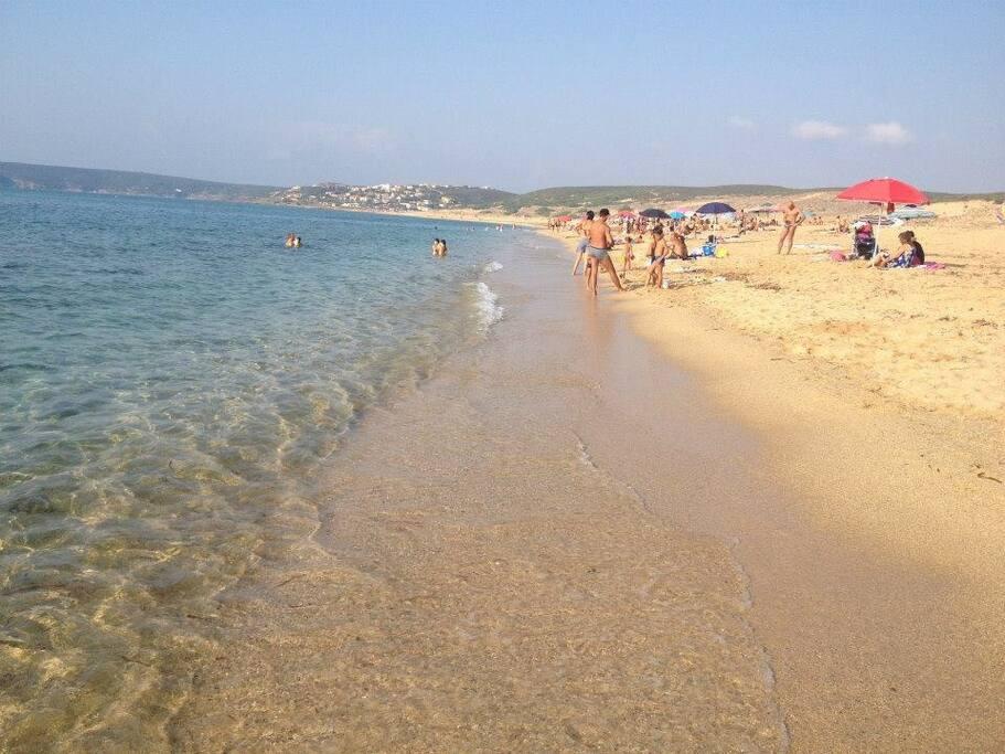 Spiaggia e mare cristallino di Sardegna