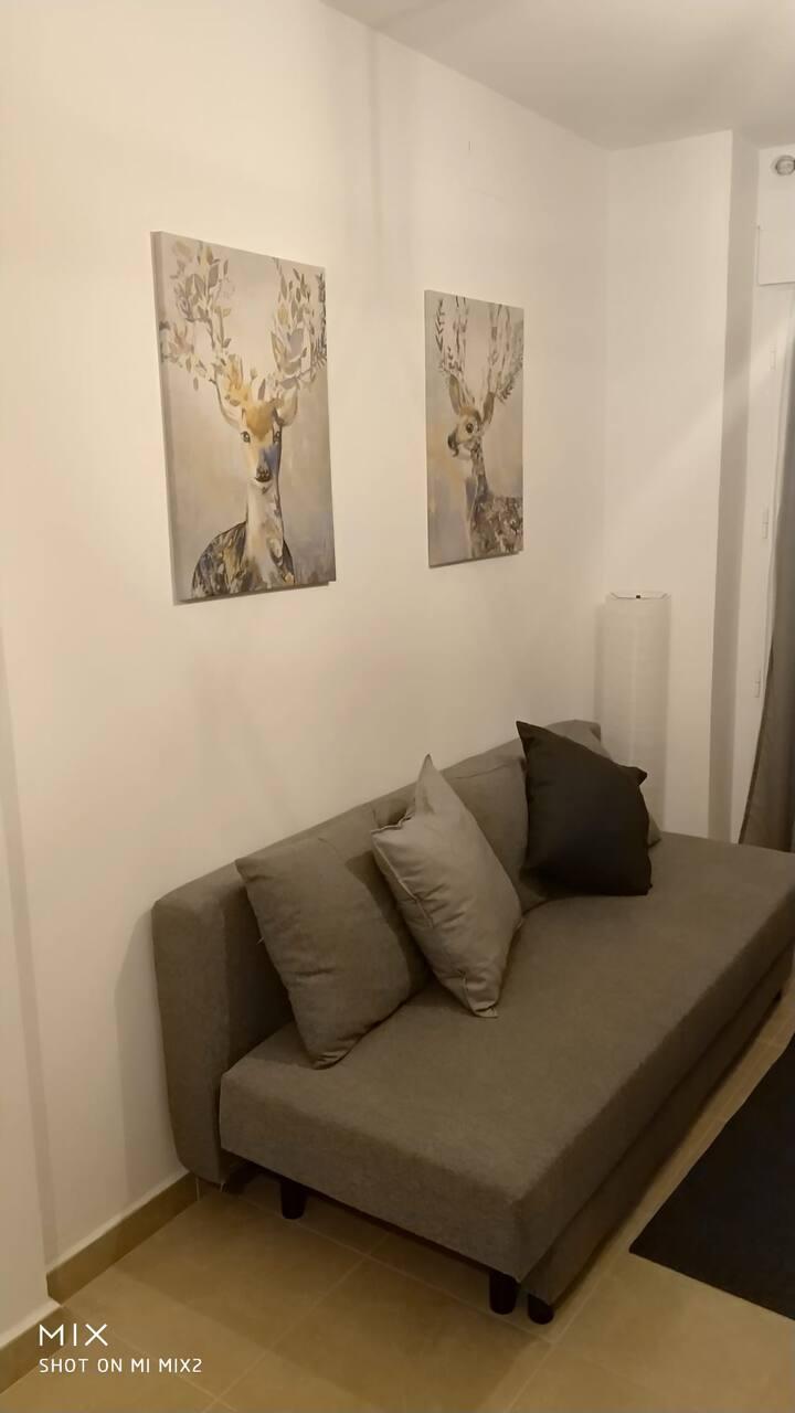 Apartamento céntrico en zafra