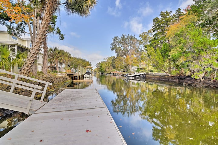 Canal Front Home w/ Dock & Access to Crystal River