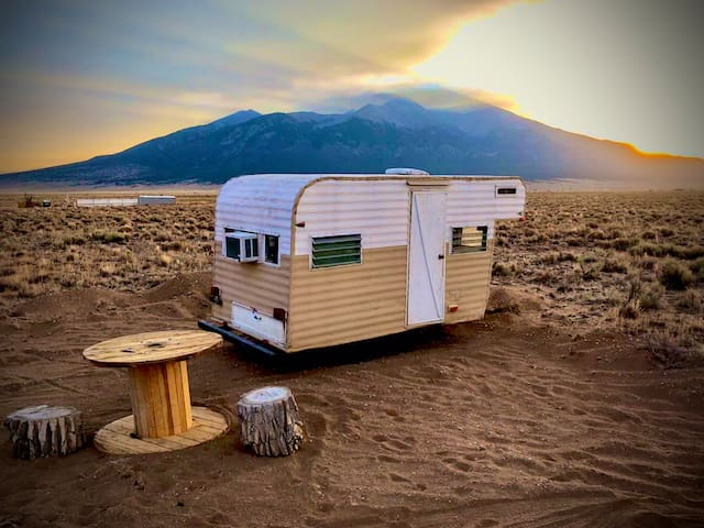 *~1950s Off Grid Camping @ Great Sand Dunes~*