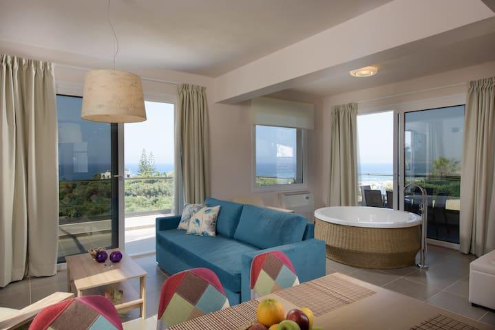 Dream luxurious seaview Villa 10m walk from beach