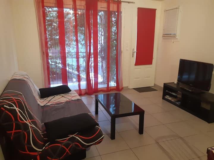 Joli appartement climatisé St Cyprien