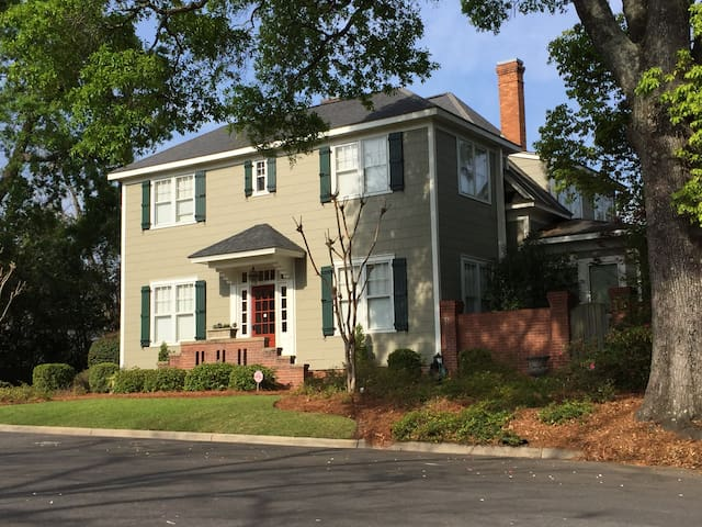Tifton Historical Apt, Entire Apt #3, Upstairs