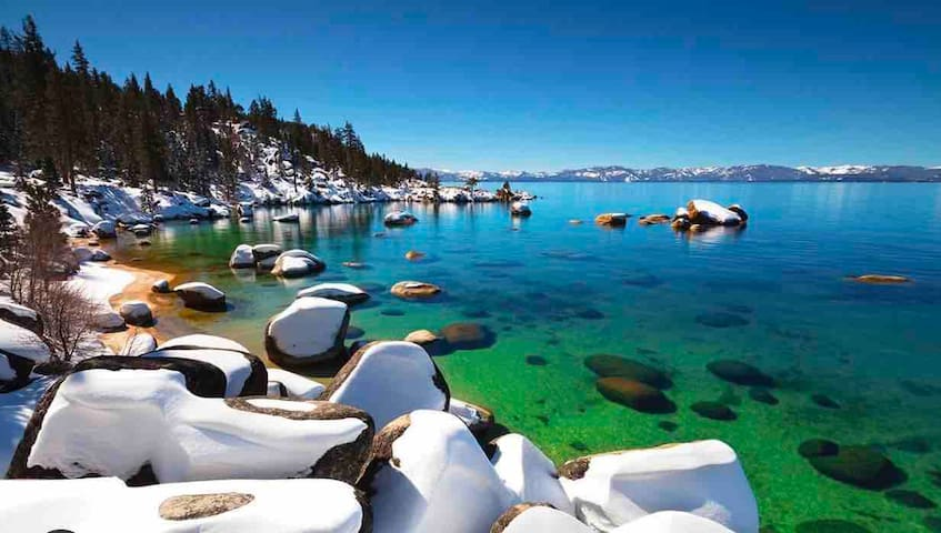 On the Lake Luxury - best family Tahoe vacation!