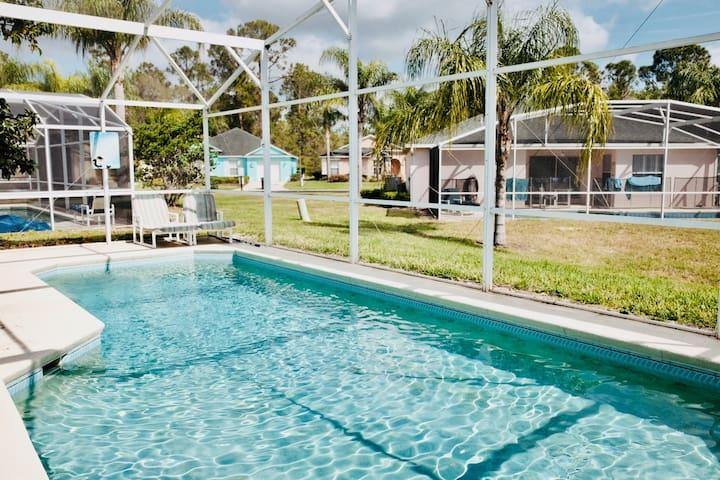 Cozy 3Bed Pool Villa near Disney Champion's Gate