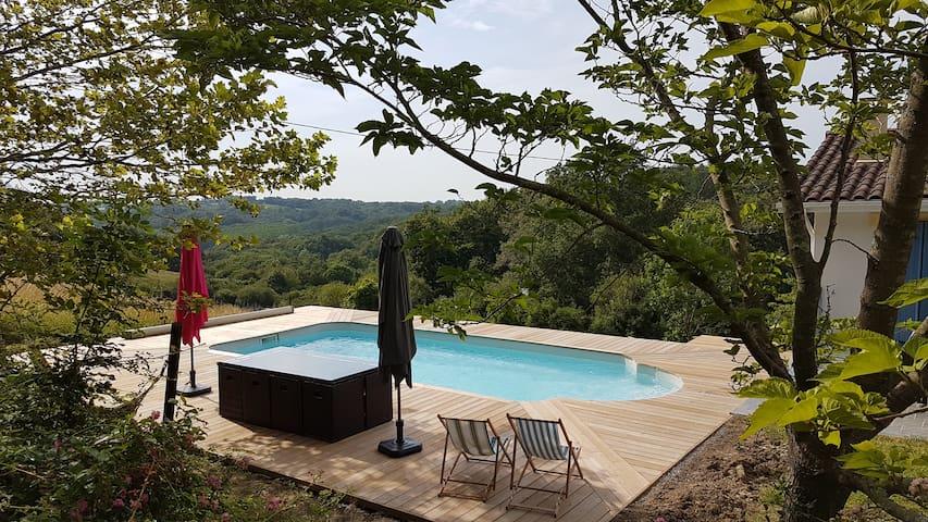 Spacieuse villa magnifique vue avec piscine