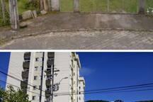 No google aparece a foto do local sem a construção das duas Torres do condomínio. Está foto é para mostrar o local antigo e o atual.