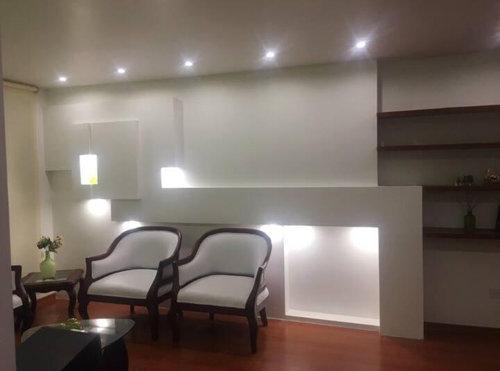 Renta habitación departamento amoblado