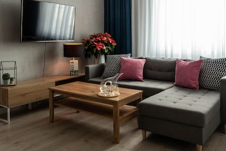 Modern apartment in downtown of Gdynia