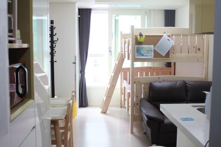 Modern House / Hongdae, New Apt, Portable WiFi