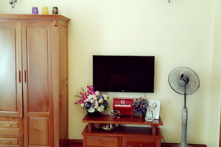 One Deluxe Room in a Cozy House - Go to google map and look for Hoang Ha bike for exact location - House