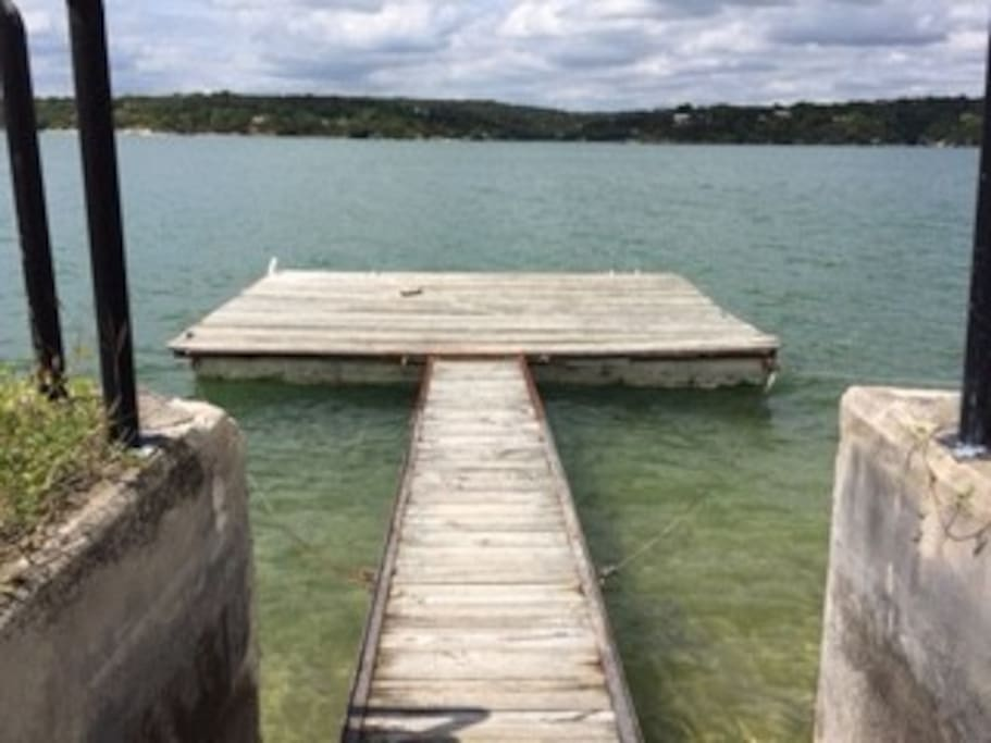 Your own private dock.