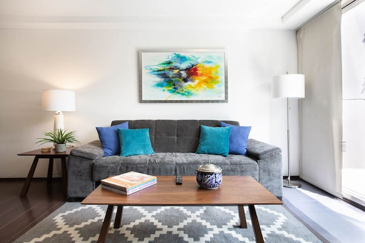 🧿 Beautiful Apt in the heart of Condesa