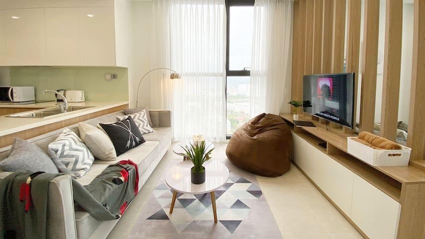 Deluxe Seaview *Ocean-facing bed unique experience