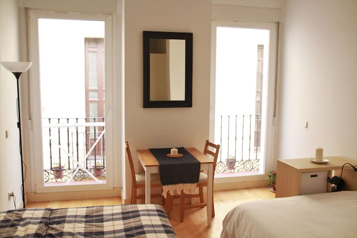 Gorgeous studio apartment in the centre of Madrid - Madrid - Flat