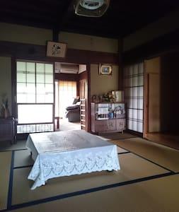 森町のひろびろ一軒家。のんびり田舎のお屋敷生活を体験できます♪ - Mori-machi