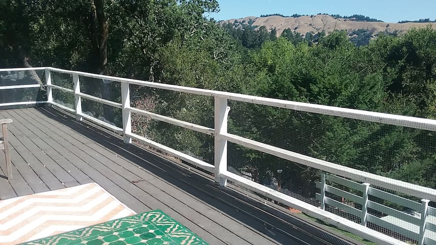 Serene setting with great views in West Marin