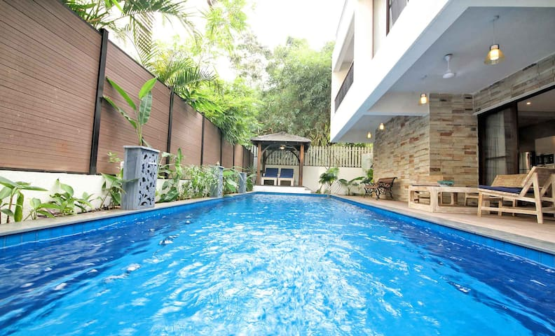 Nirvana - Private Pool Villa Near Club Cabana - Anjuna - Vila