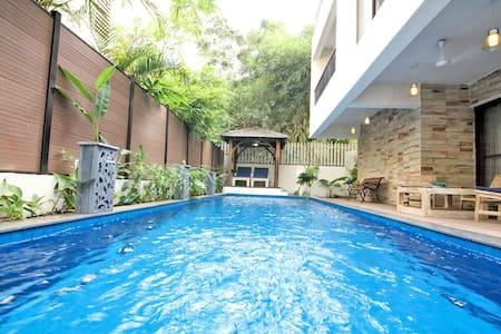 Nirvana - Private Pool Villa Near Club Cabana - Anjuna - Villa