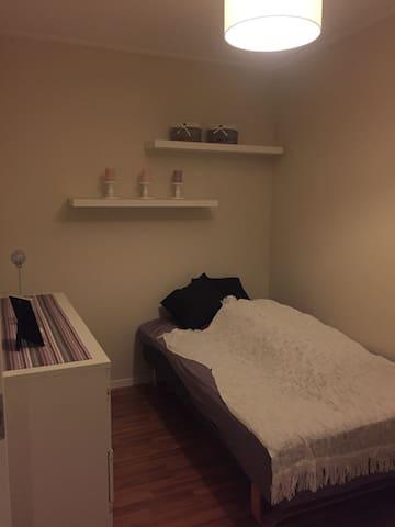 Koselig rom i leilighet - Fjell - Leilighet