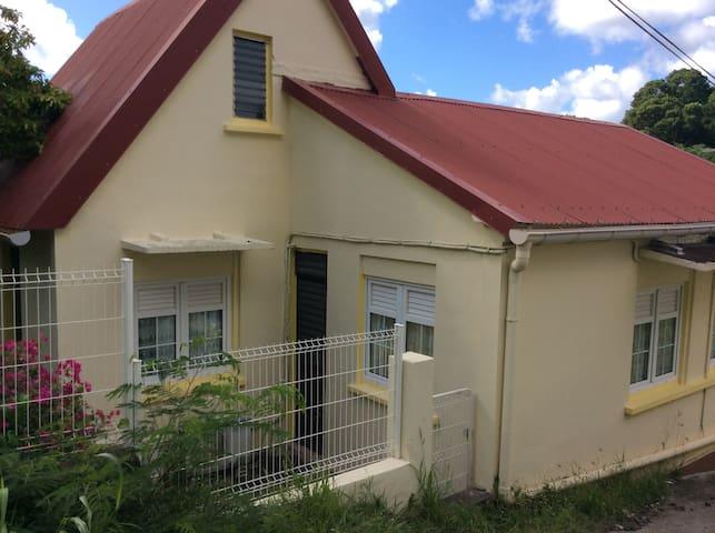 Belle maison accès direct à la plage et bourg - Sainte-Anne - Huis