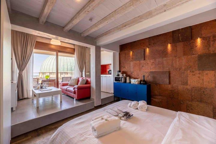 Bedroom & Living Room