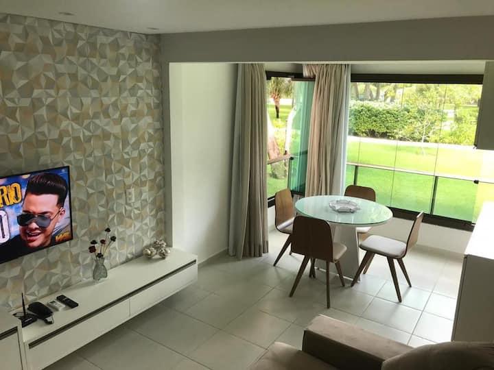 Carneiros Beach Resort Flat Térreo 2 quartos