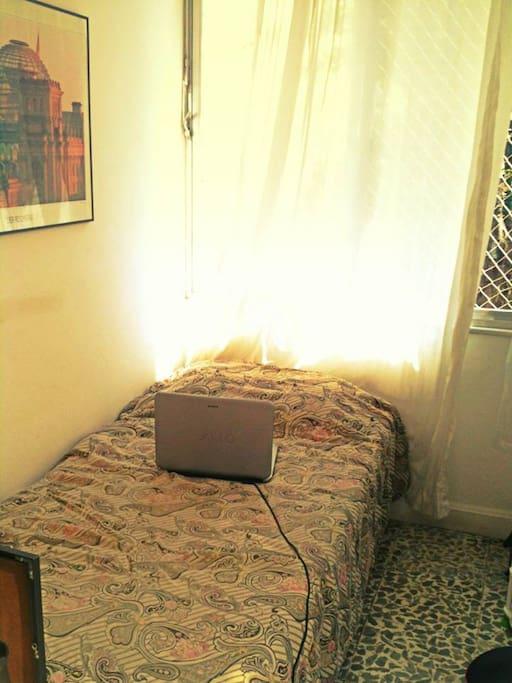 O quarto de hóspede