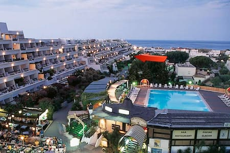 Naturist Village Cap d'Agde Studio with WIFI, A/C - Le Cap d'Agde - Apartment