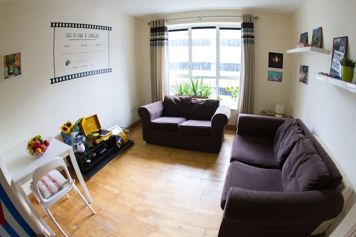 Cosy flat with private room in the heart of city