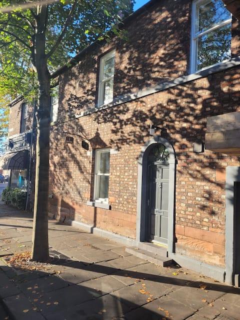 Carlisle City Centre, Cute Victorian House.