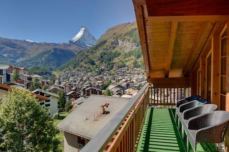 Murini Loft - Stunning modern loft apt sleeps 6-8 - Zermatt